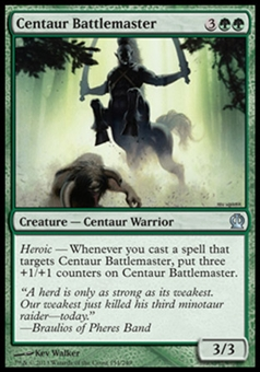 Magic the Gathering Theros Single Centaur Battlemaster - NEAR MINT (NM)