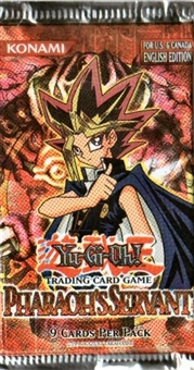 Upper Deck Yu-Gi-Oh Pharaoh's Servant Unlimited Booster Pack