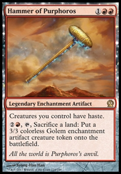 Magic the Gathering Theros Single Hammer of Purphoros - NEAR MINT (NM)