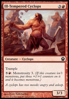 Magic the Gathering Theros Single Ill-Tempered Cyclops - NEAR MINT (NM)