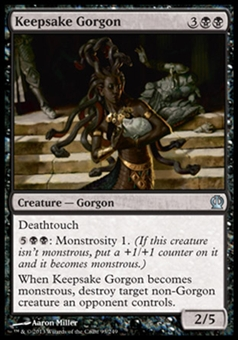 Magic the Gathering Theros Single Keepsake Gorgon - NEAR MINT (NM)