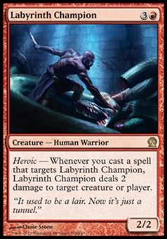 Magic the Gathering Theros Single Labyrinth Champion - NEAR MINT (NM)