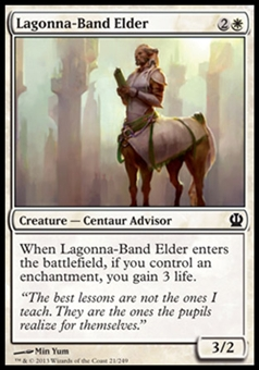 Magic the Gathering Theros Single Lagonna-Band Elder - NEAR MINT (NM)