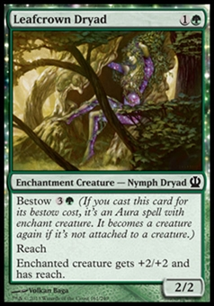 Magic the Gathering Theros Single Leafcrown Dryad - NEAR MINT (NM)