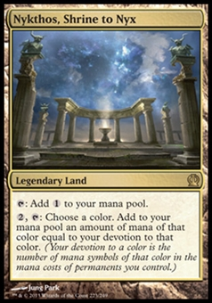 Magic the Gathering Theros Single Nykthos, Shrine to Nyx - NEAR MINT (NM)