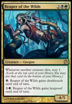 Magic the Gathering Theros Single Reaper of the Wilds Foil - NEAR MINT (NM)