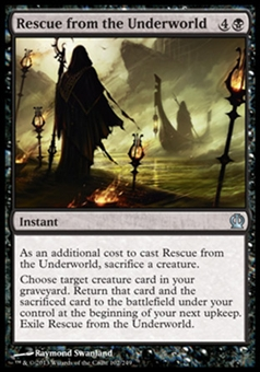 Magic the Gathering Theros Single Rescue from the Underworld Foil - NEAR MINT (NM)