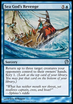 Magic the Gathering Theros Single Sea God's Revenge Foil - NEAR MINT (NM)