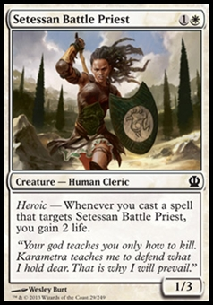 Magic the Gathering Theros Single Setessan Battle Priest - NEAR MINT (NM)