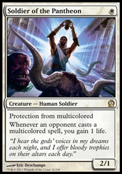 Magic the Gathering Theros Single Soldier of the Pantheon - NEAR MINT (NM)