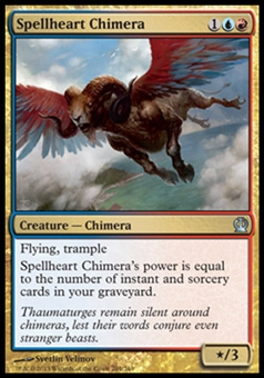 Magic the Gathering Theros Single Spellheart Chimera - NEAR MINT (NM)
