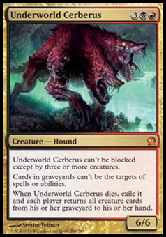 Magic the Gathering Theros Single Underworld Cerberus - NEAR MINT (NM)