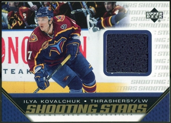2005/06 Upper Deck Shooting Stars Jerseys #SIK Ilya Kovalchuk