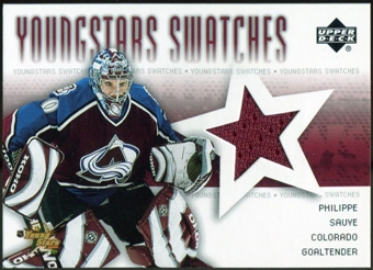 2004/05 Upper Deck YoungStars #YSPS Philippe Sauve