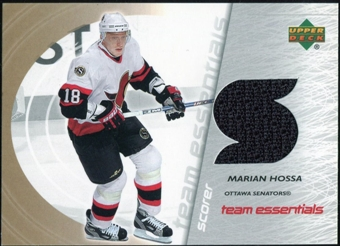 2003/04 Upper Deck Team Essentials #TSMH Marian Hossa