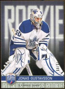 2008/09 Upper Deck Be A Player #RR284 Jonas Gustavsson XRC /99