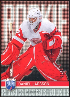 2008/09 Upper Deck Be A Player #RR286 Daniel Larsson XRC /99