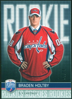 2008/09 Upper Deck Be A Player #RR294 Braden Holtby XRC /99