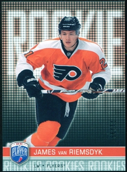 2008/09 Upper Deck Be A Player #RR303 James van Riemsdyk XRC /99