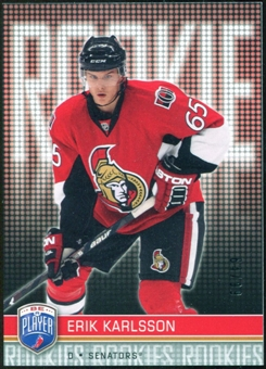 2008/09 Upper Deck Be A Player #RR304 Erik Karlsson XRC /99