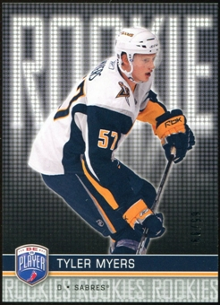 2008/09 Upper Deck Be A Player #RR311 Tyler Myers XRC /99