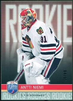 2008/09 Upper Deck Be A Player #RR313 Antti Niemi XRC /99