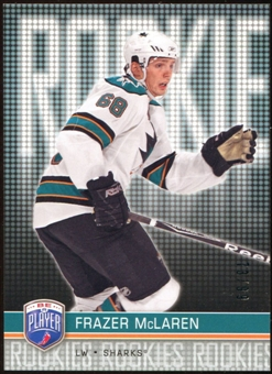 2008/09 Upper Deck Be A Player #RR314 Frazer McLaren XRC /99
