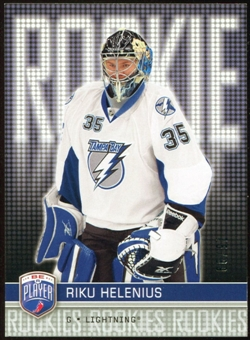 2008/09 Upper Deck Be A Player #RR319 Riku Helenius XRC /99