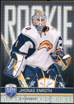2008/09 Upper Deck Be A Player #RR321 Jhonas Enroth XRC /99