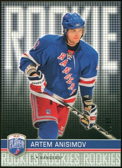 2008/09 Upper Deck Be A Player #RR322 Artem Anisimov XRC /99