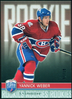2008/09 Upper Deck Be A Player #RR325 Yannick Weber XRC /99