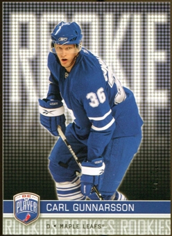 2008/09 Upper Deck Be A Player #RR331 Carl Gunnarsson XRC /99