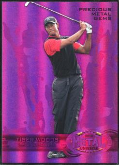 2013 Upper Deck Precious Metal Gems Employee #ETW Tiger Woods 96/125