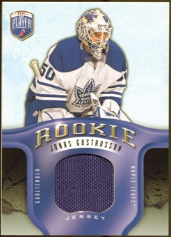 2008/09 Upper Deck Be A Player Rookie Redemption Bonus #RR284 Jonas Gustavsson Jersey /99