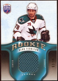 2008/09 Upper Deck Be A Player Rookie Redemption Bonus #RR301 Benn Ferriero Jersey /99