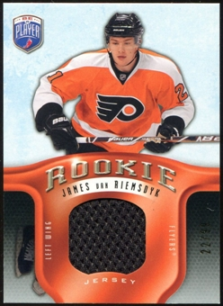 2008/09 Upper Deck Be A Player Rookie Redemption Bonus #RR303 James van Riemsdyk Jersey /99