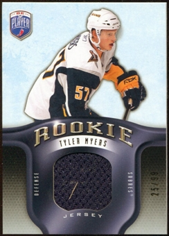 2008/09 Upper Deck Be A Player Rookie Redemption Bonus #RR311 Tyler Myers Jersey /99