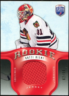 2008/09 Upper Deck Be A Player Rookie Redemption Bonus #RR313 Antti Niemi Jersey /99