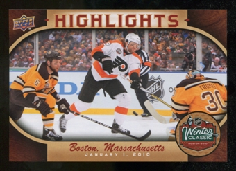 2010/11 Upper Deck Winter Classic Oversized #WC11 Scott Hartnell
