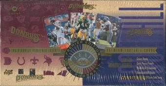 1996 Leaf Football Hobby Box