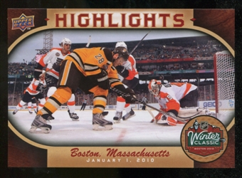 2010/11 Upper Deck Winter Classic Oversized #WC5 Mark Recchi