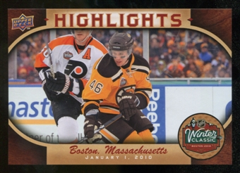2010/11 Upper Deck Winter Classic Oversized #WC7 David Krejci