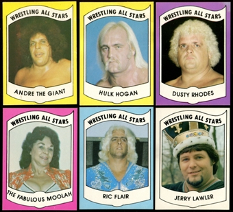 1982 WWF WWE Wrestling All Stars Series A Complete Set