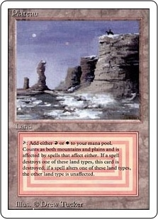 Magic the Gathering 3rd Ed (Revised) Single Plateau - SLIGHT PLAY (SP)