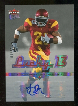 2006 Fleer Ultra Lucky 13 Autographs #212 LenDale White Autograph /25