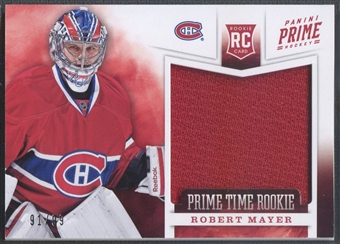 2012/13 Panini Prime #18 Robert Mayer Prime Time Rookie Jersey #91/99