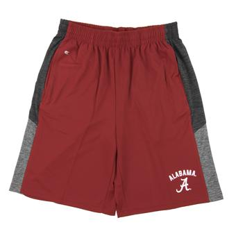 Alabama Crimson Tide Colosseum Crimson Friction Shorts (Adult S)