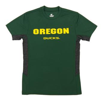 Oregon Ducks Colosseum Green Youth Performance Ultra Tee Shirt (Youth M)