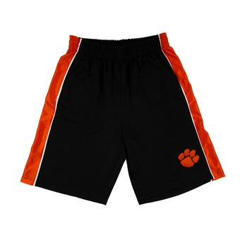 Clemson Tigers Colosseum Black Layup Shorts (Adult S)