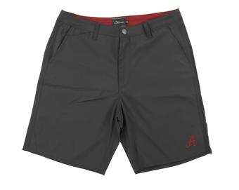 Alabama Crimson Tide Colosseum Chiliwear Grey Water Break Shorts